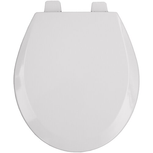 Bemis Commercial Open Front Molded Wood Round Toilet Seat