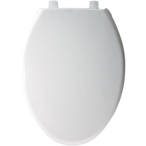 Bemis Solid Plastic Elongated Toilet Seat