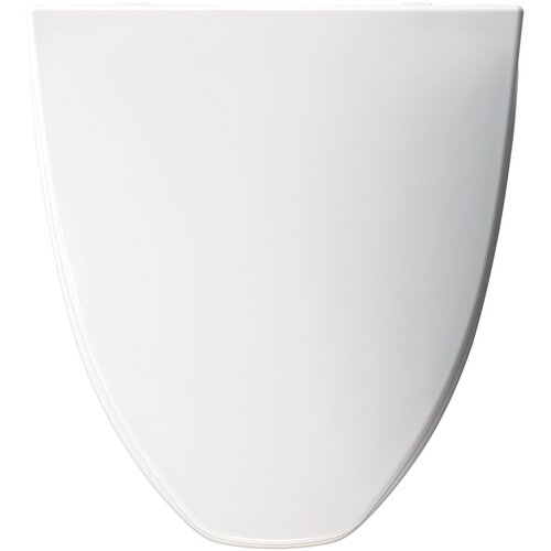 American Standard Molded Solid Plastic Elongated Toilet Seat