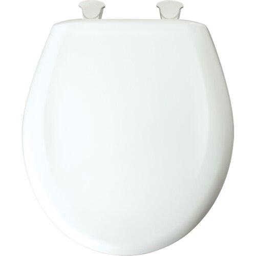 Bemis Residential Plastic Round Toilet Seat
