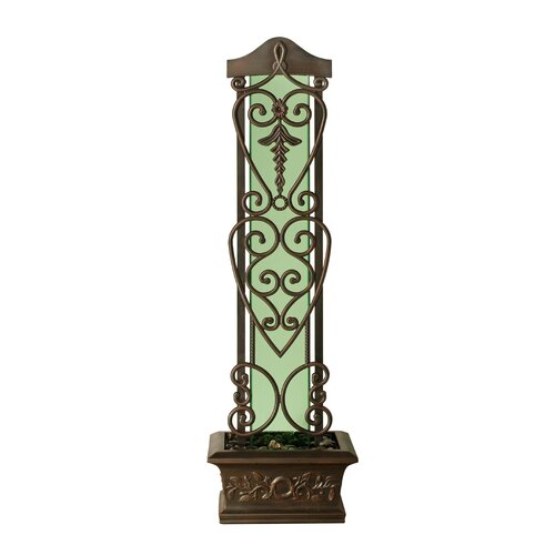 Bluworld Copper Falls Water Trellis Floor Fountain