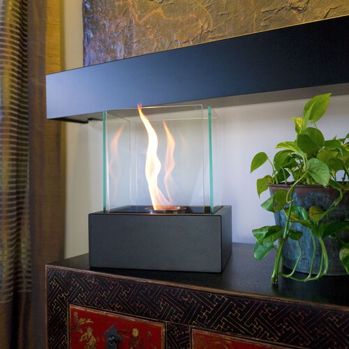 Bluworld Lampada Freestanding Bio Ethanol Fuel Fireplace