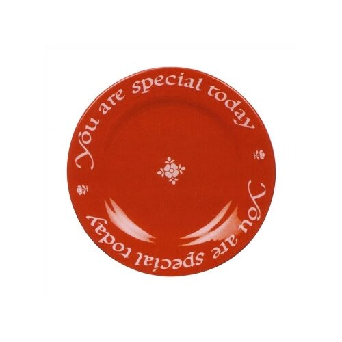 "Waechtersbach 10.5"" You Are Special Today Plate with Pen"