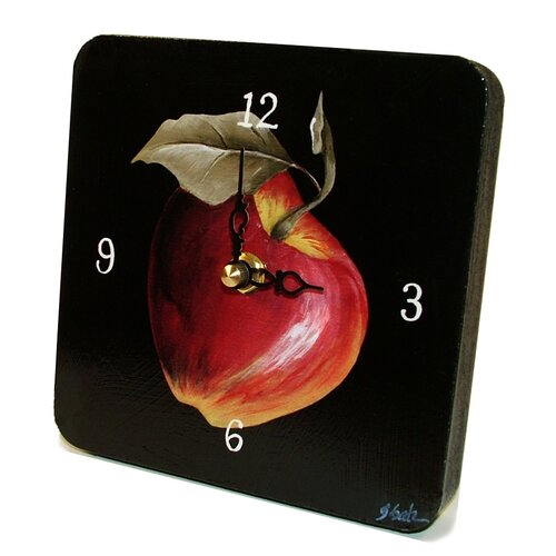 Lexington Studios Home and Garden Apple Tiny Times Clock