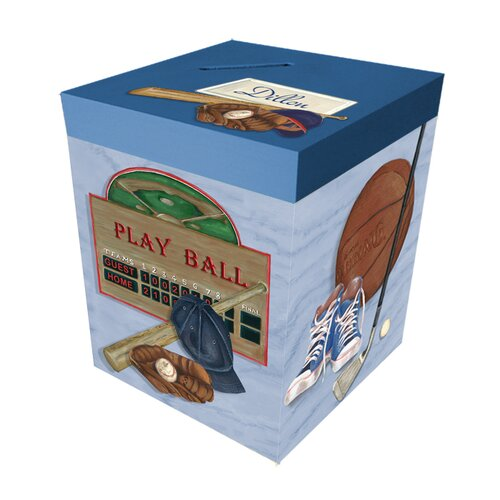 Sports Personalized Bank Box