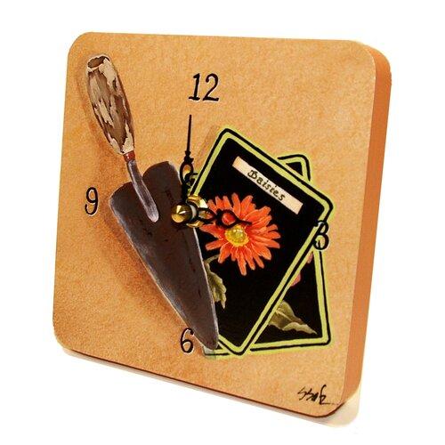 Lexington Studios Home and Garden Gardening Tiny Times Clock