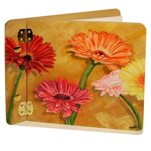 Home and Garden Gerber Daisies Mini Book Photo Album