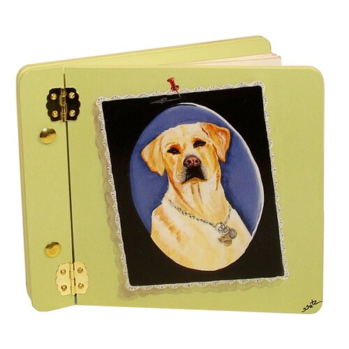 Animals Yellow Lab Mini Book Photo Album