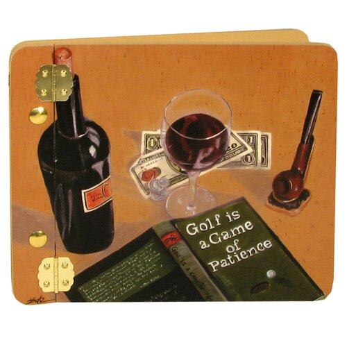 Lexington Studios Home and Garden Wine and Spirits Good Book Mini Photo Album