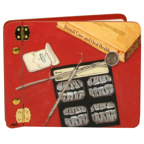 Lexington Studios Home and Garden Dental Details Mini Book Photo Album