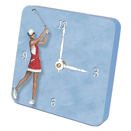 Good Swing Golf Tiny Times Desk Clock