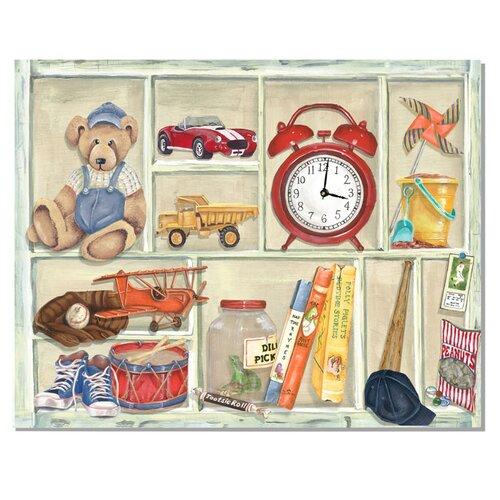 Dillon's Treasures Wall Clock