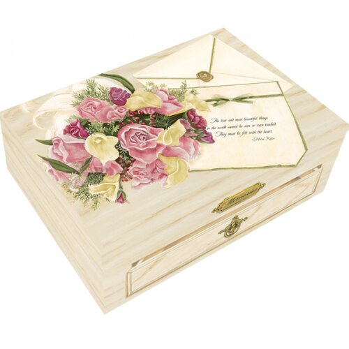 Summer Wedding Large Hinge Box
