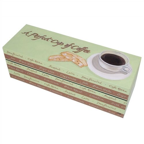 Lexington Studios Perfect Cup of Coffee Decorative Storage Box