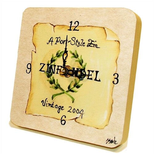 Home and Garden Zinfandel Tiny Times Clock
