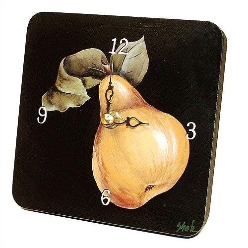 Lexington Studios Home and Garden Pear Tiny Times Clock