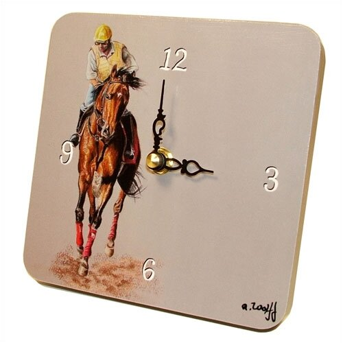 Sports Jockey Tiny Times Clock