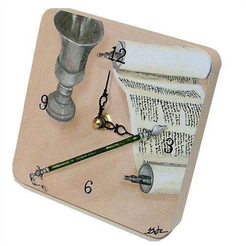 Lexington Studios Judaica Mitzvah Tiny Times Clock