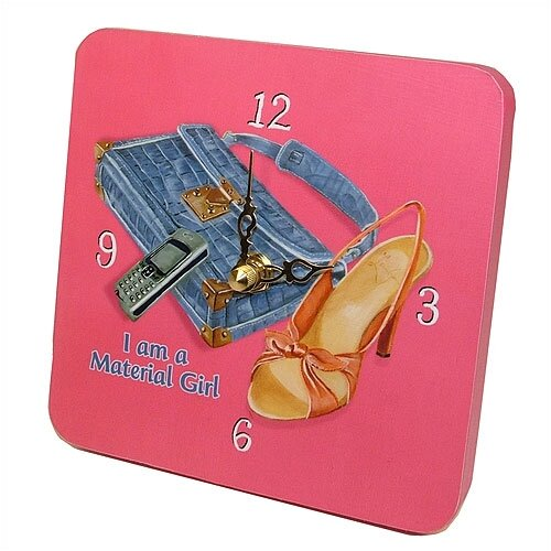 Children and Baby Material Girl Tiny Times Clock