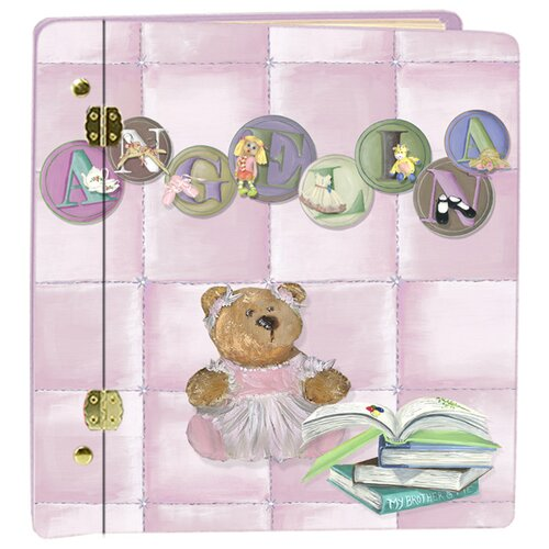 Lexington Studios Little Girl Letters Book Album