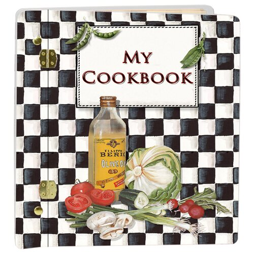 Lexington Studios Veggie Checker Recipe Book Album