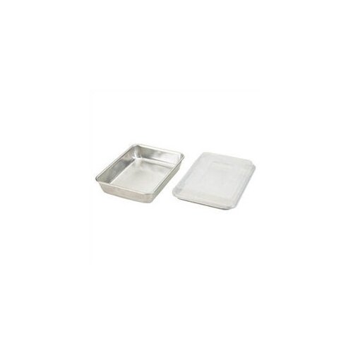 Nordicware Natural Commercial 3 Piece Bakers Set with Lid