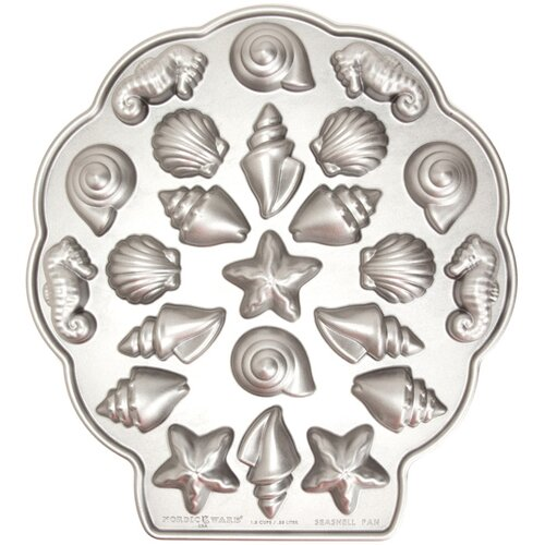 Nordicware Sea Shell Teacakes Pan