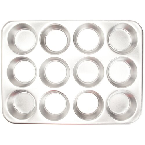 Nordicware Natural Commercial 12 Cup Muffin Pan with Lid