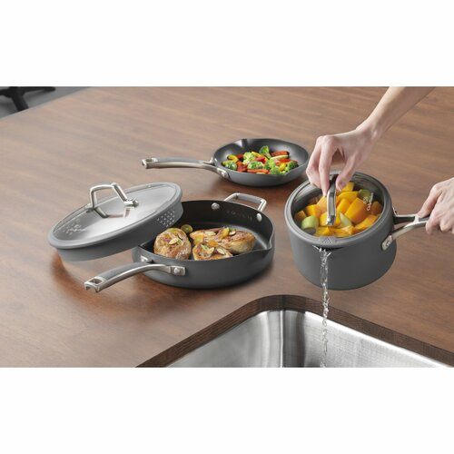 Calphalon Easy System Nonstick 10-Piece Cookware Set