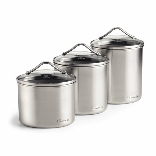 Calphalon Oval Canister 3-Piece Set