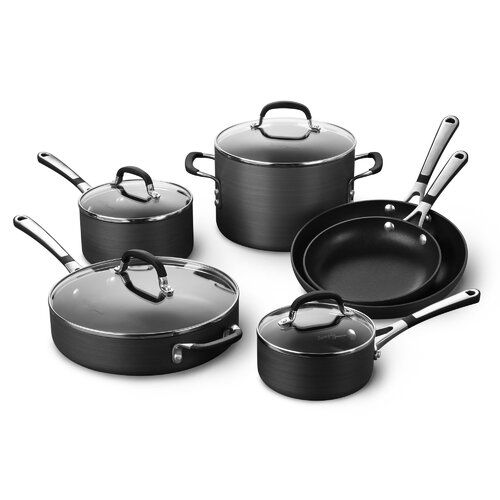 Simply Nonstick 10-Piece Cookware Set