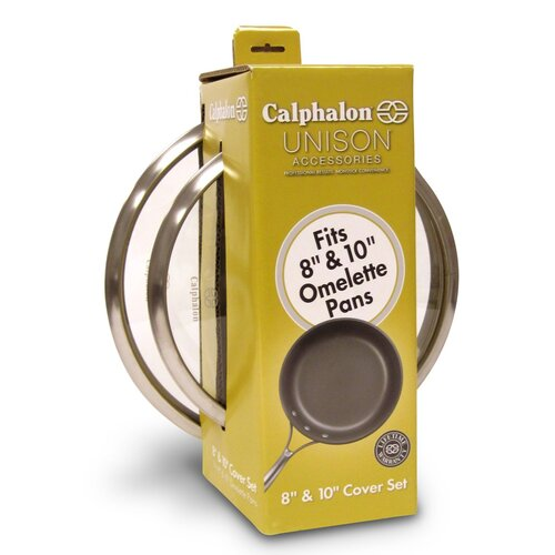 Calphalon Unison Glass Lid Set