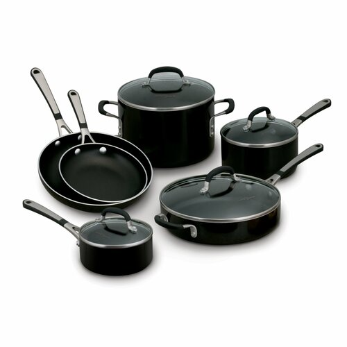 Simply Enamel 10 Piece Cookware Set
