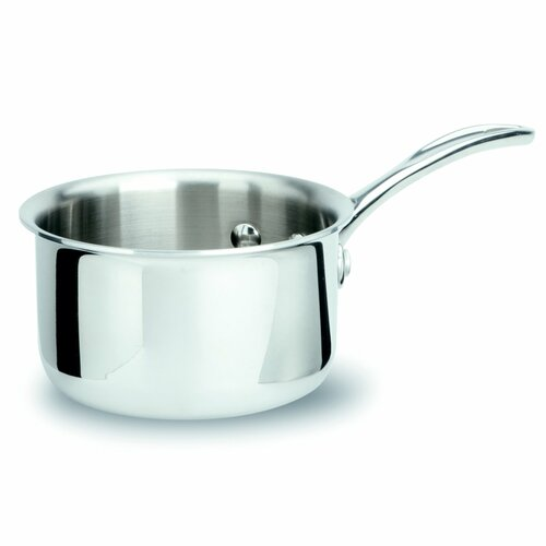 Tri-Ply Stainless Steel 1-qt. Saucepan