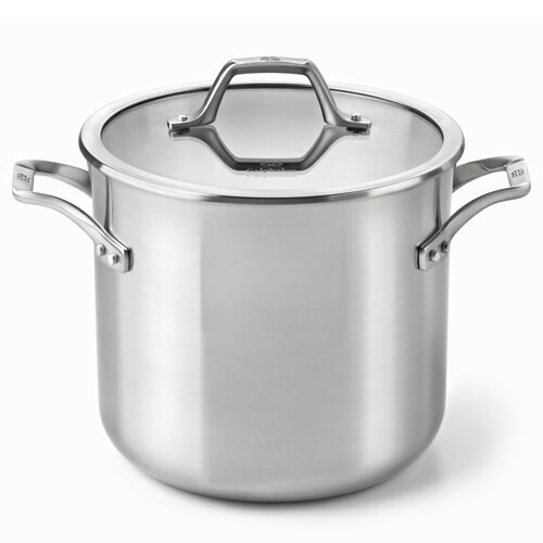 AcCuCore 8-qt. Stock Pot with Lid