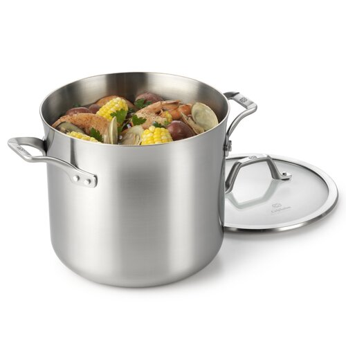 Calphalon AcCuCore 8-qt. Stock Pot with Lid