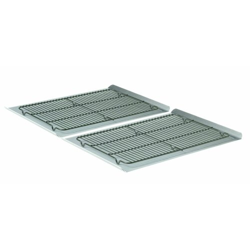 Nonstick Large Cookie Sheet and Cooling Rack (4 Piece Set)
