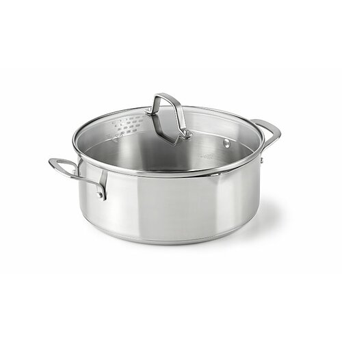Stainless Steel 5-qt. Aluminum Round Dutch Oven