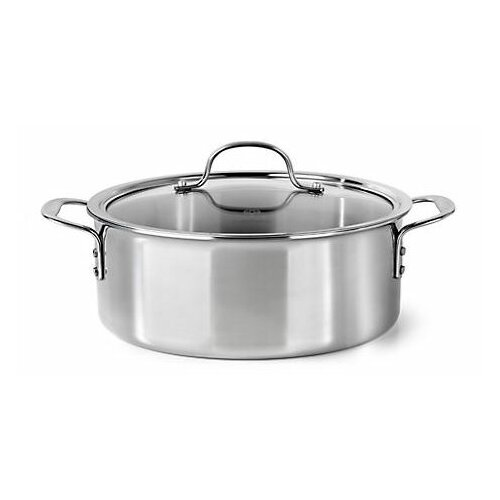 Try-Ply Stainless Steel 5-qt. Aluminum Round Dutch Oven