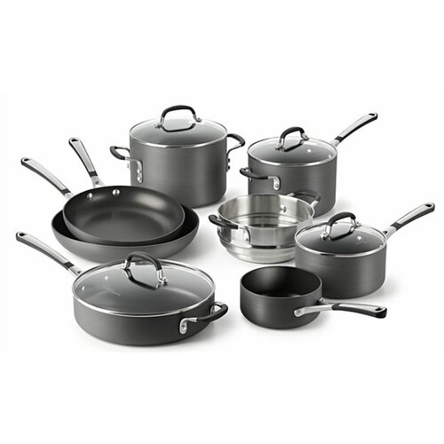 Simply Nonstick 12-Piece Cookware Set