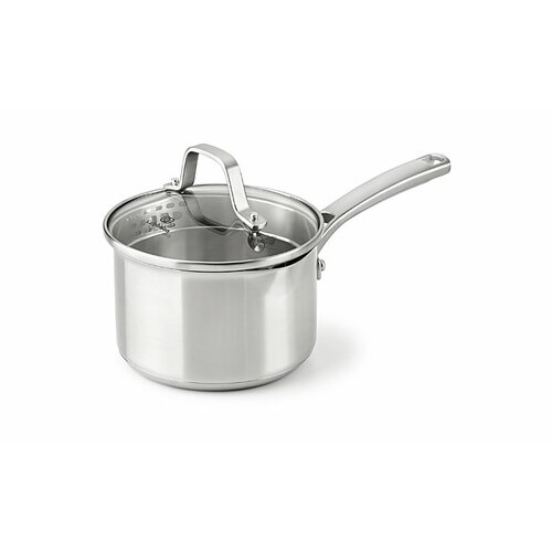 Stainless Steel Saucepan with Lid