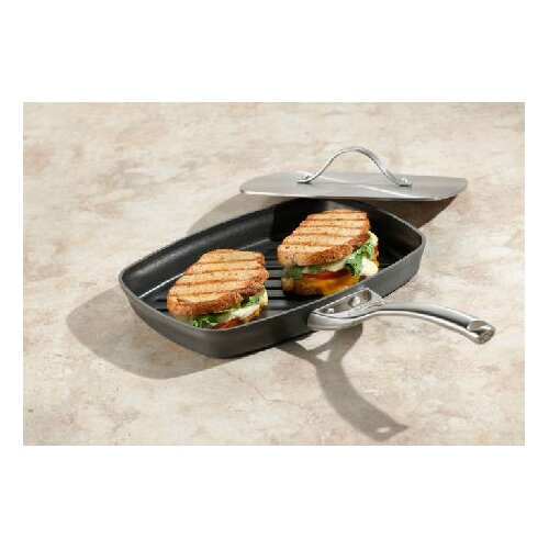 Calphalon Contemporary Nonstick Panini Pan with Lid