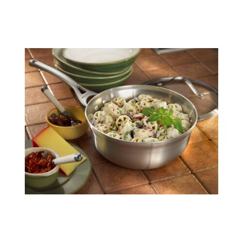 Calphalon Contemporary Stainless Steel 2-qt. Chef's Saute Pan with Lid