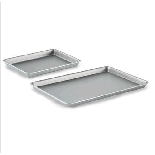 2-Piece Nonstick Baking Sheet and Brownie Pan Set