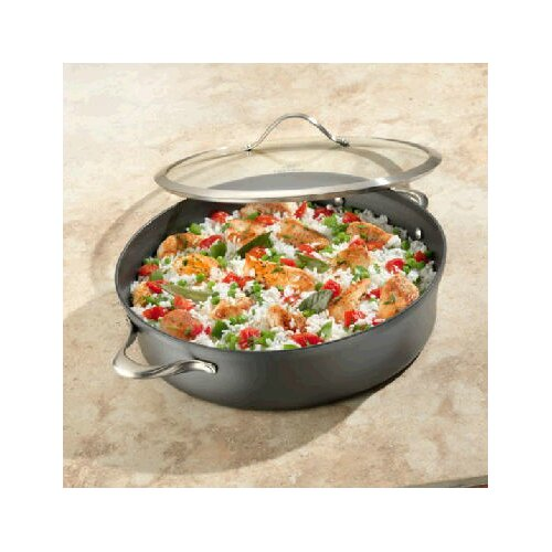 Calphalon Contemporary Nonstick 7-qt. Sauteuse Pan with Lid