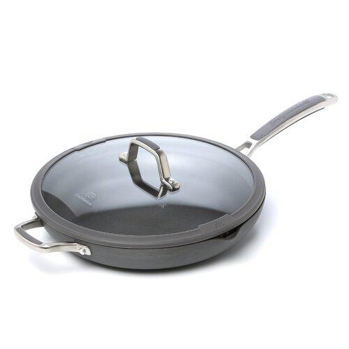 """Calphalon Easy System Nonstick 12"""" Covered Omelette Pan"""