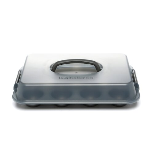 Calphalon Nonstick 12 Cup Covered Cupcake Pan