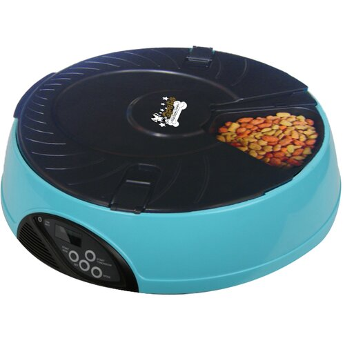 QPets 6 Meal LCD Automatic Pet Feeder