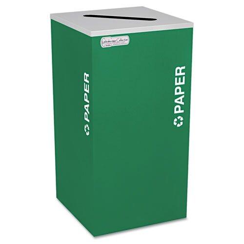 Ex-Cell Kaleidoscope 24 Gallon Industrial Recycling Bin
