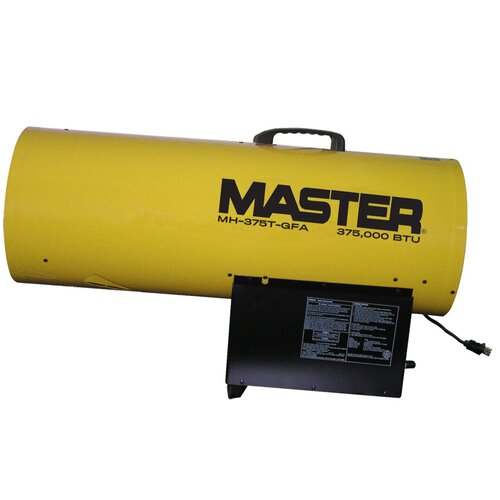 Master 375,000 BTU Forced Air Utility Propane Space Heater with Thermostat